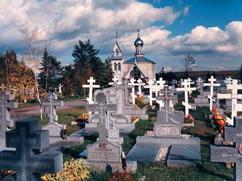 Посетителям кладбища потребовался сурдопереводчик