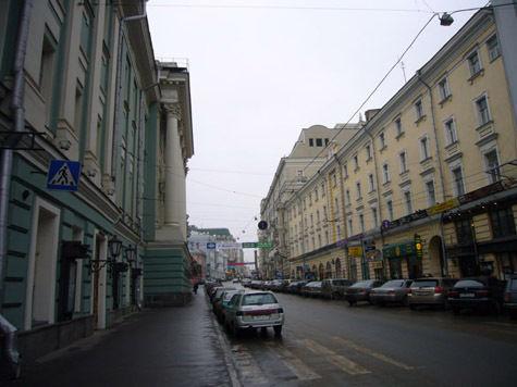 По Большой Дмитровке запретили ездить в выходные