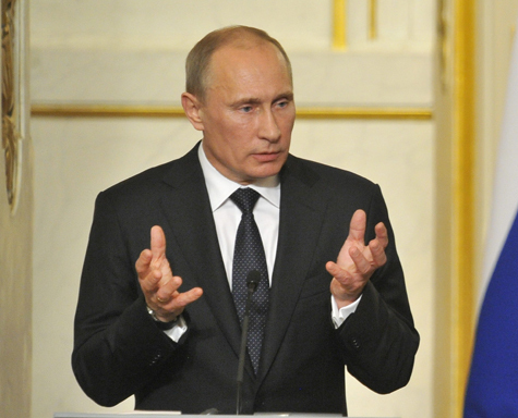Путин приготовился к отражению «арабской весны»