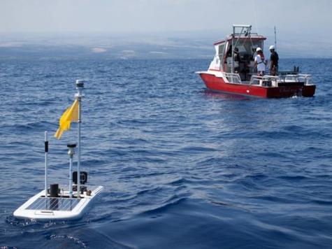 Морской робот по имени Бенжамин пересек Тихий Океан