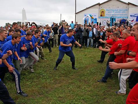Традиционный народный спорт собрал бойцов из разных регионов России