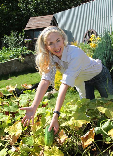 Знаменитости учат читателей «МК» складывать поленницу и выращивать помидоры «вниз головой»