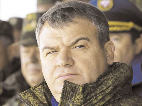 Силовикам запретили «петь песни» про Сердюкова и товарищей