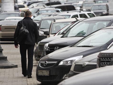 В столице открываются платные автостоянки