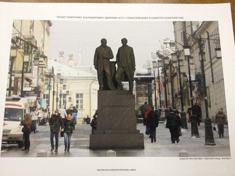 Олег Табаков предложил перенести памятник писателю на другое место