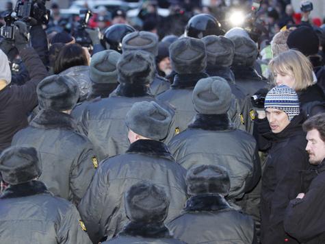 Полицейских поощрят за митинги