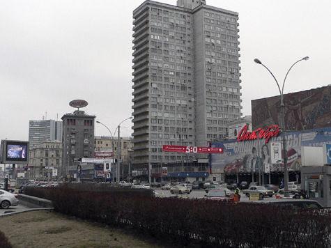 На Новом Арбате появится волнообразная пешеходная зона