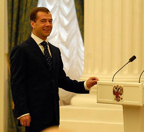 Медведев поддержит горловое пение