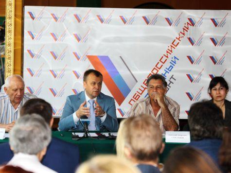 Сергей Ерощенко написал предвыборную программу иркутским единороссам