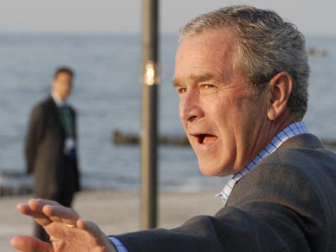 Буш вернулся в президентскую резиденцию