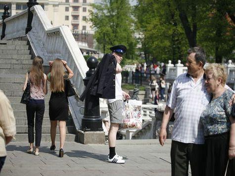 В Москву идет 30-градусная жара