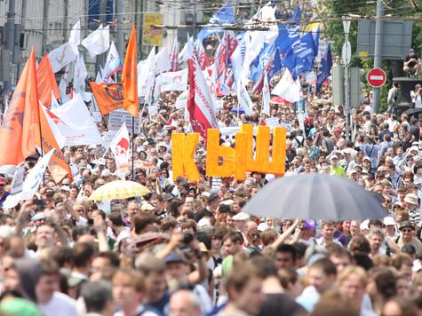 Новая акция оппозиции оказалась рекордно массовой