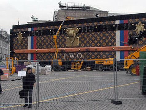 Кремль открестился от демонтажа «чемодана» с Красной площади