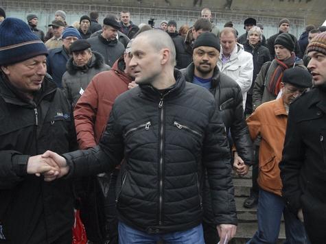 Удальцов к Медведеву не ходок