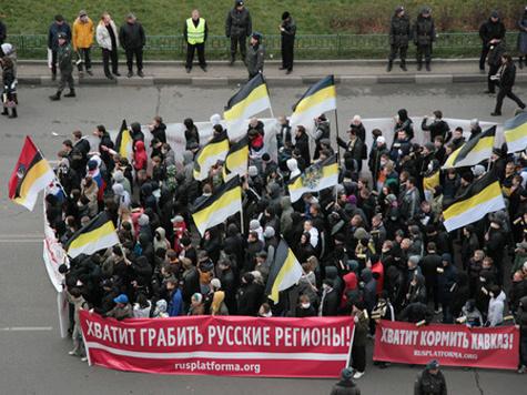 «Русский марш», бессмысленный и беспощадный