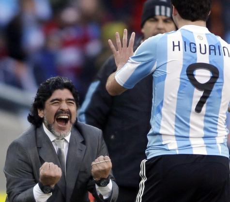 Аргентина вышла в 1/8 финала