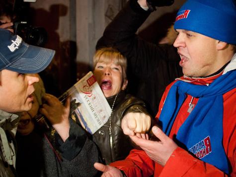 Вместо цивилизованной парламентской в России формируется радикальная площадная демократия