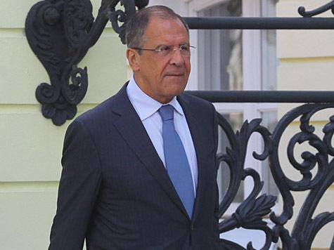 Министр Лавров: Россия призвала руководство Сирии передать химическое оружие под международный контроль