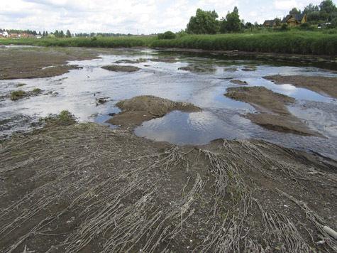 Почему река Руза без воды?
