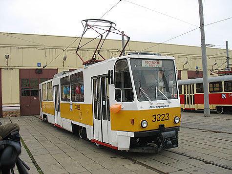 Трамвай укатился  в прошлое