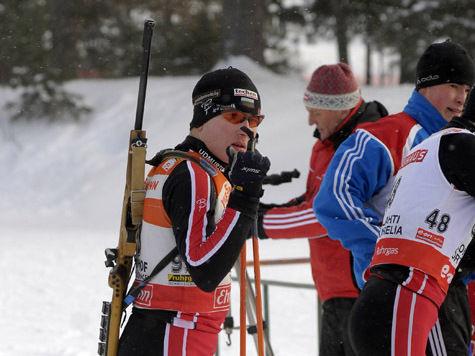 Российские биатлонисты и кёрлингисты показали высокий класс на домашних тестовых соревнованиях