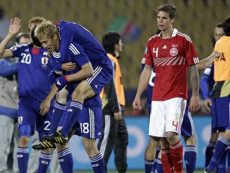 Сборная Японии вышла в 1/8 финала ЧМ-2010