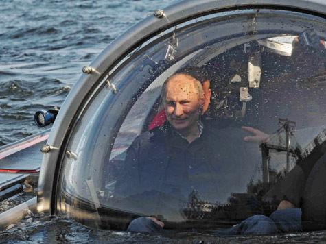 Путин не хочет искать клад