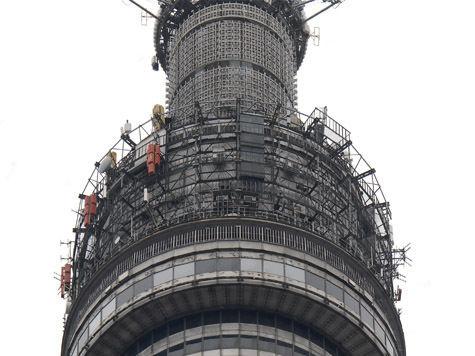 Останкинскую башню закрыли ради «Седьмого неба»