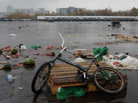 Бирюлевская овощебаза закрылась до середины января
