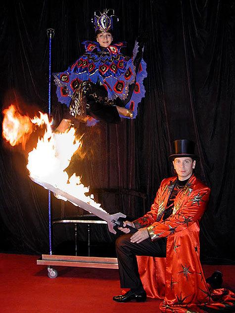В Цирке на Цветном новая программа