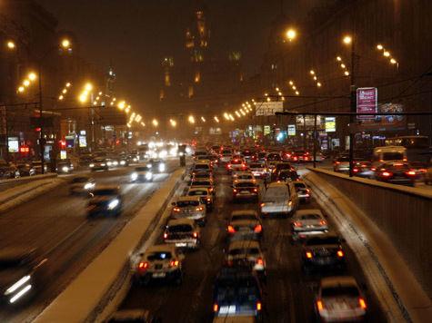 В центре Москвы появится особая разметка для борьбы с водителями-лихачами