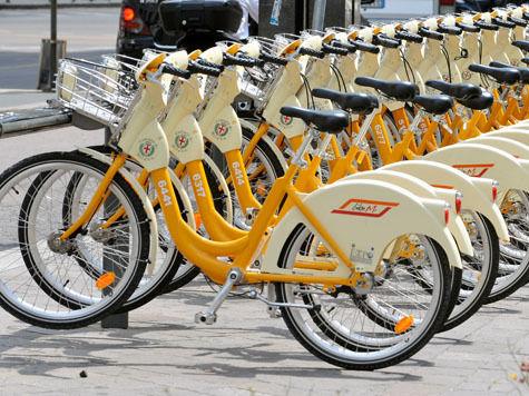 Москвичам раздадут ключи от велопрокатов