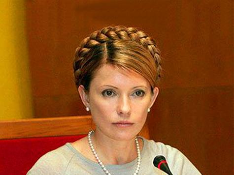 Стычка произошла между сторонниками и противниками экс-премьера Украины еще до начала судебного заседания