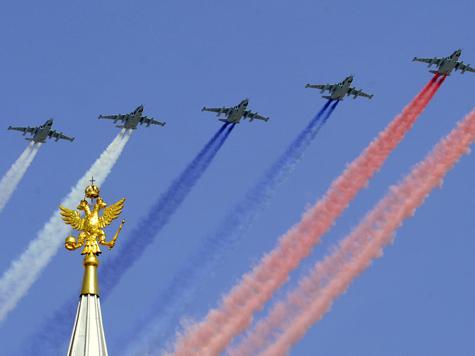 За безоблачное небо в День Победы заплатят 64 млн рублей