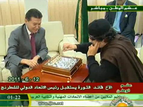 Каддафи сыграл вничью