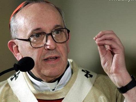 Франциск I благословил паству