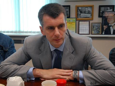 Михаил Прохоров: «Женщины в возрасте хотят, чтобы их внуки были такими, как я!»