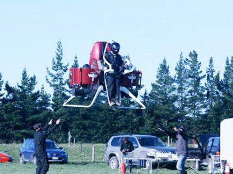В Новой Зеландии испытана новая версия летающего ранца