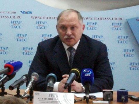 Предновогоднее выступление и.о. главы региона Анатолия Гредина