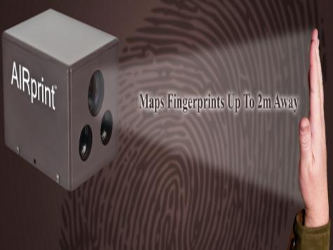 На Западе научились сканировать отпечатки пальцев с шести метров из-за стены