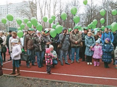 Разгневанные москвичи своим шествием заблокировали несколько улиц