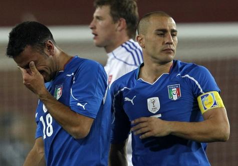 Италия не вышла из группы