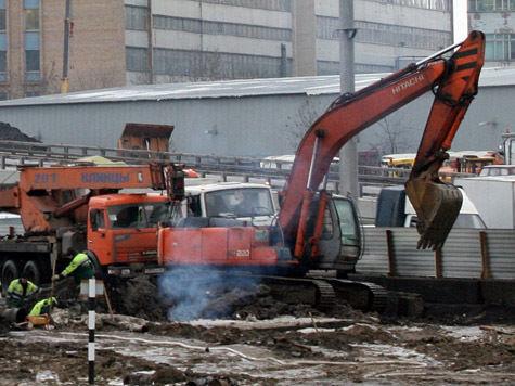 Реконструкцию развязки МКАД и Волгоградки могут завершить досрочно