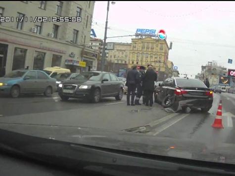 Лишь по счастливой случайности чиновник не пострадал