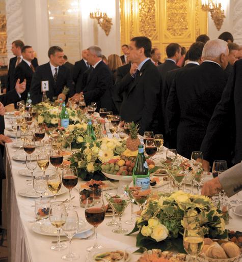 Кремлевский мусс и хруст французской булки