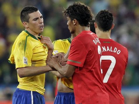 Бразилия и Португалия сыграли вничью.