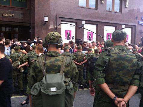 Онлайн-трансляция: Народный сход за Навального в Москве