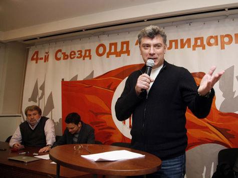 Немцов объяснил, почему Каспаров попросил латвийское гражданство