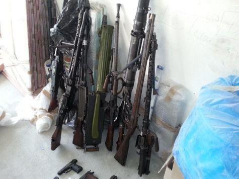 У столичного антиквара обнаружили склад пулеметов