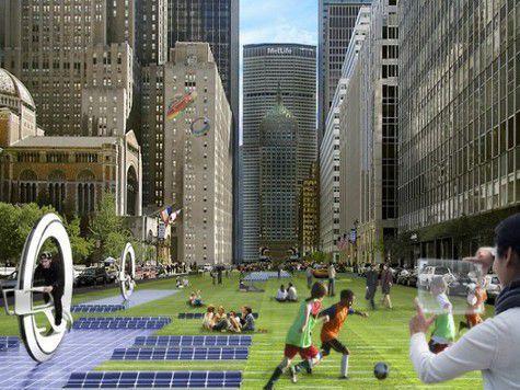 Представлен проект транспортной инфраструктуры городов будущего